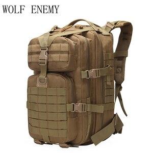 Image 3 - 40L Military Tactical Assault Pack Rucksack Armee 3D Wasserdichte Bug Out Bag Kleine Rucksack für Outdoor Wandern Camping Jagd