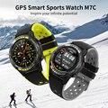M7C GPS спортивные Smart Watch для мужчин 2020 IP68 спортивные умные часы Мужчины компас барометр высота открытый waterroof Smart watch es