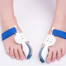 цена на 1 Pair Pain Relief Feet Care Tool    Big Toe Separator Corrector Orthopedic Bunion Splint Toe Straightener Hallux Valgus