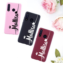 Classy Queen Heart Personalized Customize Name Candy Silicone Phone Case