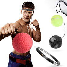 fight ball lomachenko punching ball boxing equipment training apparatus muay thai boxing trainer accessories speed fast ball gym Boxing Reflex Balls Gym Boxing Muay Exercise Fight Ball Men Boxing Training  Coordination Improve Reaction Punching Speed Ball