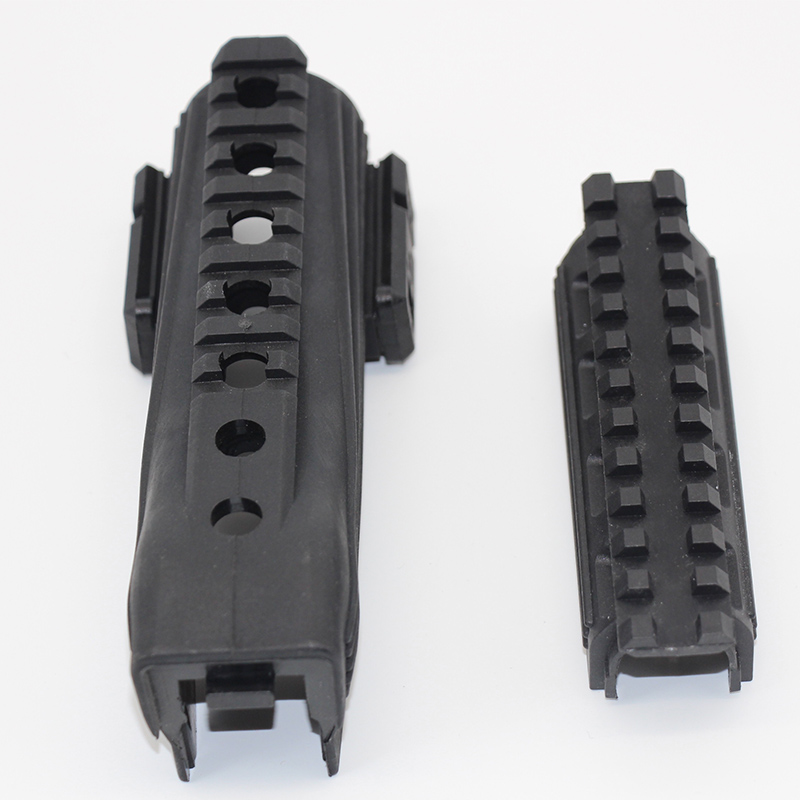 Hunting Airsoft Tactical AK 74 Strikeforce Polymer Handguard Upper Lower Picatinny AK Series Hunting Rifle Gun Accessories in Hunting Gun Accessories from Sports Entertainment