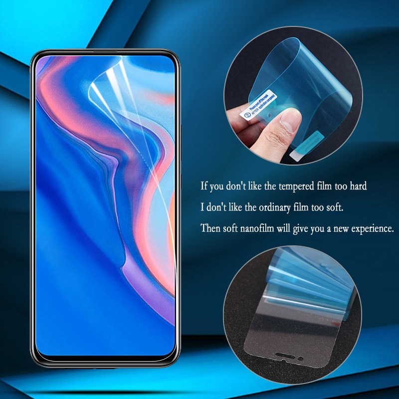 Nano Explosion-proof Film For Huawei P30 Lite P20 Pro P40 Screen Protector For Huawei Honor 9X V30 Pro Nova 5T 6 SE (Not Glass)