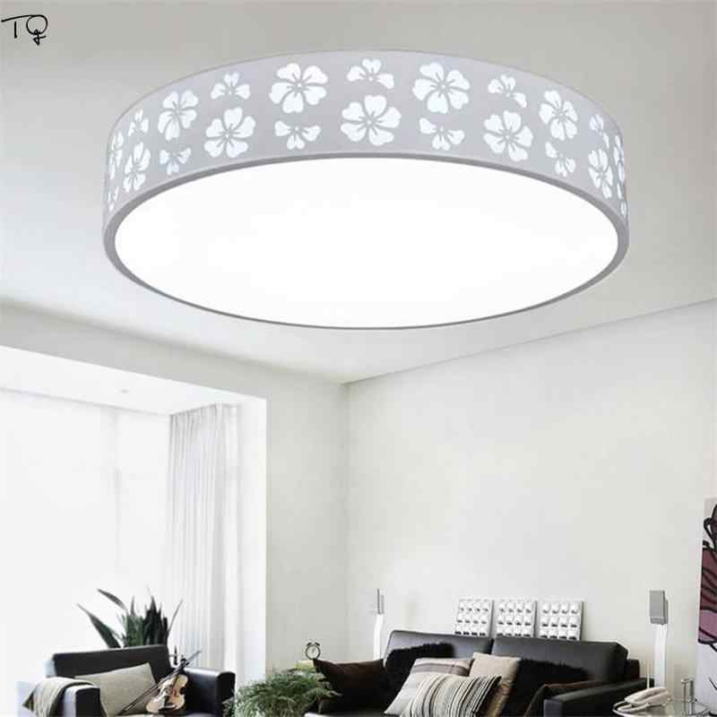 Led Light Fixture Round Remote Ceiling Roof Lamp Thin Modern Simple Bedroom Living Room Dining Kitchen Restaurants Decor Home Ceiling Lights Aliexpress