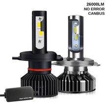Car Lights CSP 26000/16000LM Canbus H4 LED H7 H11 LED Lamp Car Headlight Bulbs H1 H8 H9 9005 9006 HB4 Turbo LED Bulbs 12V 6000K