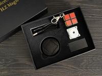 Mental Dice (Cube) 2.0 Wireless Charging Magic Tricks Magician Close Up Illusions Gimmick Props Metalism Soul Prediction Magia
