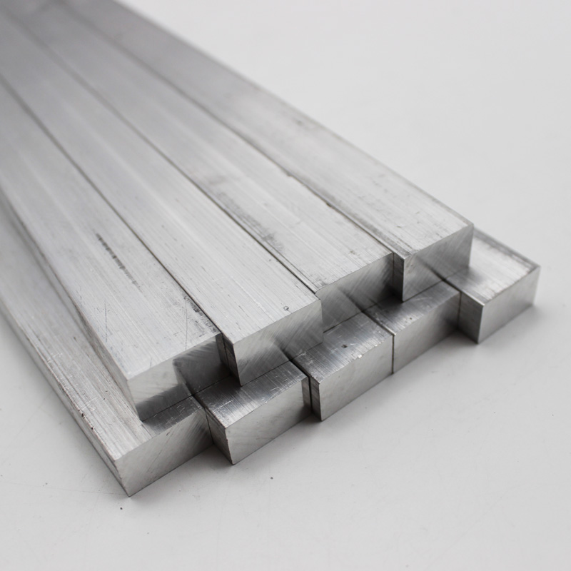 6061 Aluminum Solid Square Bar Block