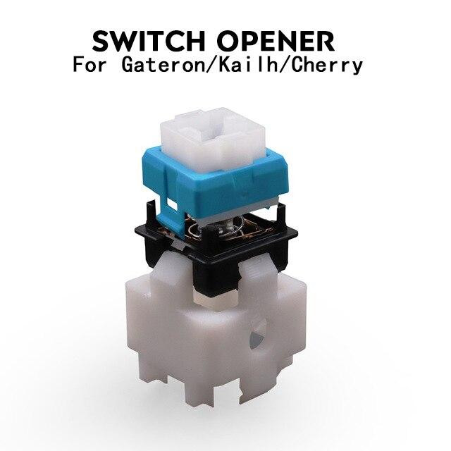30 przełączniki przełącznik Tester Lube Modding Station połączenie etui DIY platforma do usuwania klawiatury mechanicznej Cherry Kailh