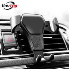 Universal Car Mobile Phone Holder Air Vent Mount Stand No Magnetic Cell Phone Holder For iPhone Phone In Car Bracket Z2 cheap CN(Origin) Black