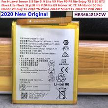 2020 original novo hb366481ecw bateria 3000 mah para huawei honor 7a pro AUM-AL29 aum al29 baterias