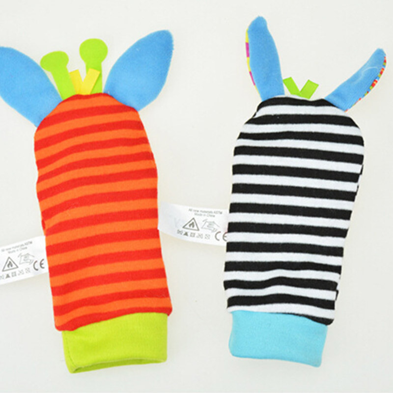 2pcs-Baby-Rattles-Stuffed-Toys-Animal-Socks-Plush-Rattle-with-Ring-Bell-Toy-For-Toddlers-Learning (3)