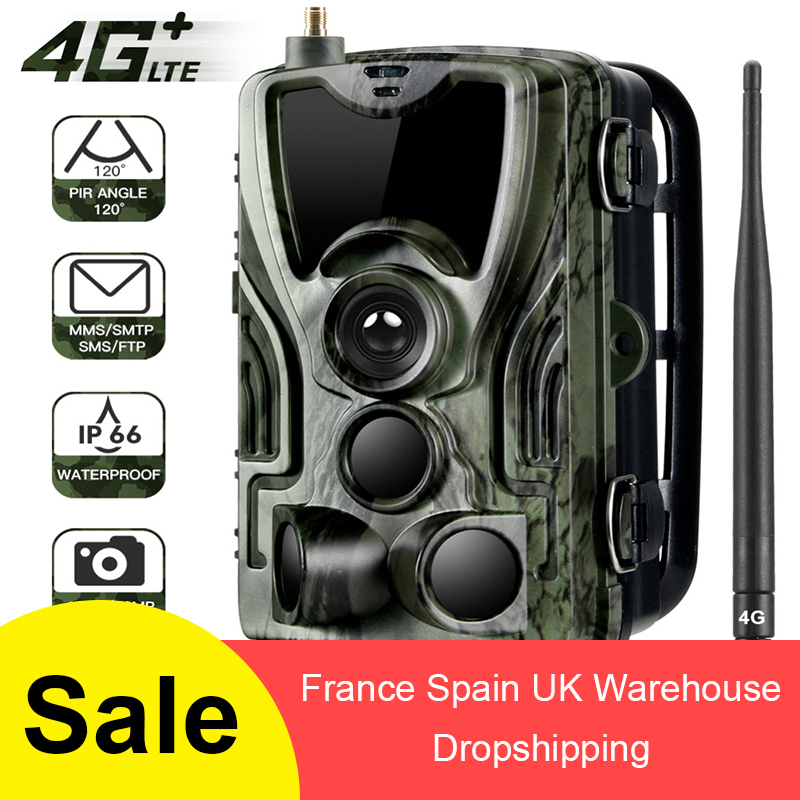 Suntek HC801LTE 4G Hunting Camera 12MP 940nm Night Vision Gsm MMS GPRS Photo Traps Trail Camera Infrarot Animal Dropship