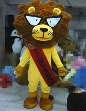 Adults Lion Mascot Costume Suits Cosplay Party Game Dress Outfits Clothing Advertising Carnival Halloween Easter Festival(China)