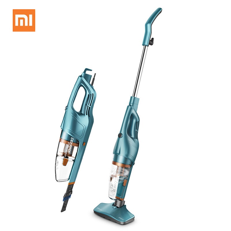 Xiaomi Vacuum Cleaner Hand-Held Push Rod 2-in-1 Dual Use Vacuum Cleaner 1.2L Capacity Dust Box Low Noise Vertical Dust Collector