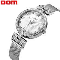 Precio Relojes con correa de acero de malla de moda para Mujer, Relojes de cuarzo de Ginebra antiguo para Mujer, Relojes de pulsera para Mujer