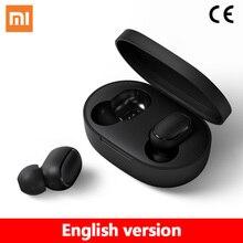 Оригинал Xiaomi Redmi Airdots Наушники, AI Control Bluetooth Стерео Бас Беспроводная Шумоподавление Гарнитура Микрофон Громкой Связи На