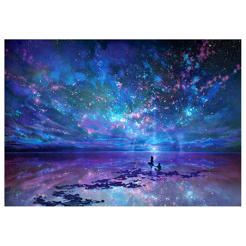 5D DIY Full Square Diamond Painting Mosaic Cross Stitch Embroidery Decorative Picture Sky Pattern Home Decor Gift