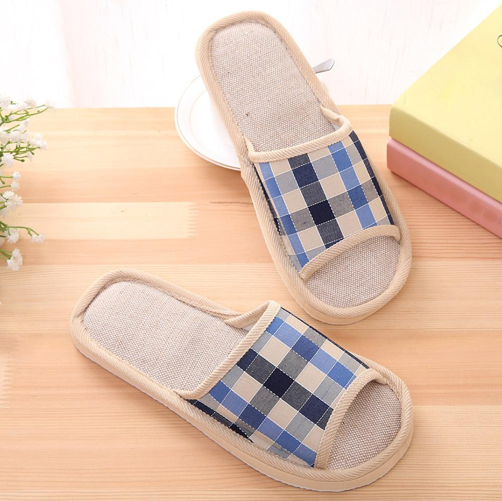 Shoes Mens Slippers Women's Couples Warm Non-slip Floor Home Slippers Indoor Bedroom Shoes #2O29