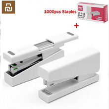 Youpin Kaco LEMO Stapler 24/6 26/6 with 100pcs Staples for Paper Office School Home now Set with 1000pcs staples