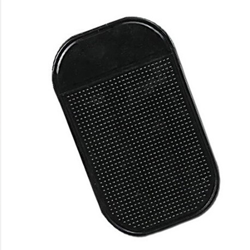 1PC Black Car Dashboard Sticky Pad Silica Gel Strong Suction Pad Holder Anti Slip Mat for Mobile Phone Car Accessories 13x7cm