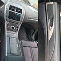 Автомобильный Стайлинг 3D 5D углеродное волокно Автомобильная внутренняя центральная консоль изменение цвета литье наклейки для lincoln mkz ...