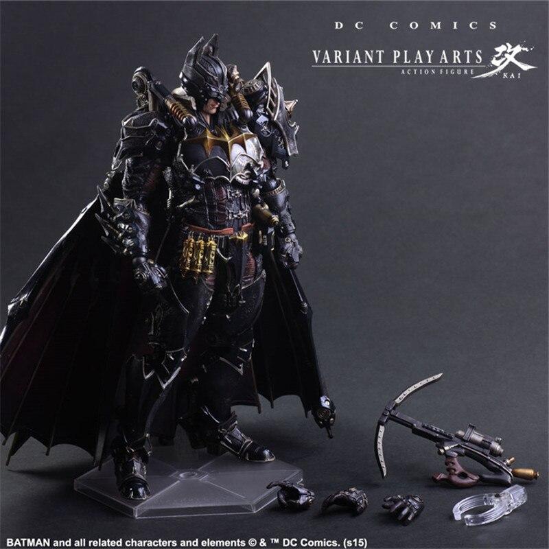 Avengers jouer Art Kai figurines d'action Punk Batman intemporel vapeur capitaine américain Super homme fer homme Figure Batman jouet poupée modèle