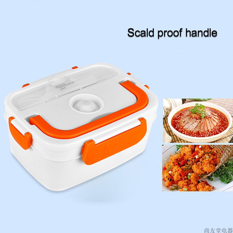 Portable Electric Food Heater Lunch Box Heating School Office Food Container Warmer LBShipping|Bottles Jars & Boxes| |  - title=