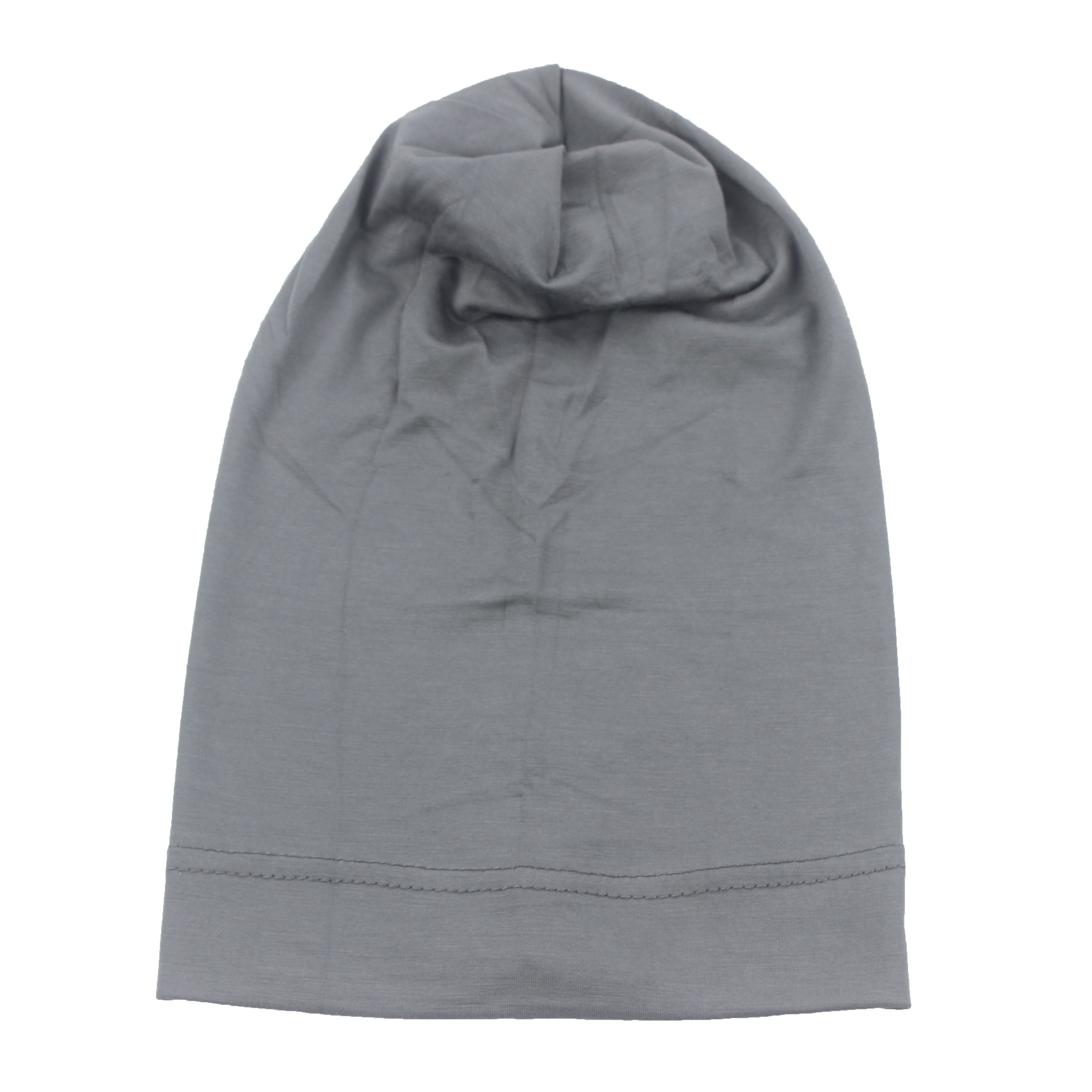 Image 4 - Muslim Women Girls Scarf Cap Cotton Breathable Hat Womens Turban  Elastic Cloth Head Cap Hat Ladies Hair Accessories WholesaleIslamic  Clothing
