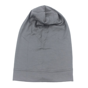 Image 4 - Muslim Women Girls Scarf Cap Cotton Breathable Hat Womens Turban Elastic Cloth Head Cap Hat Ladies Hair Accessories Wholesale