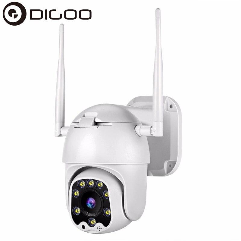 DIGOO DG-HD820 caméra IP de sécurité à domicile 1080P HD PTZ caméra extérieure bidirectionnelle Audio sans fil Vision nocturne CCTV WiFi caméra plus récent