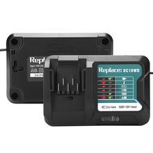 Carregador de bateria de lítio ion Recarregável para Makita DC10W 10.8V 12V DC10WD BL1015 BL1016 BL1021B BL1041B FD05 DT03 RJ03Z SH02Z PH04Z