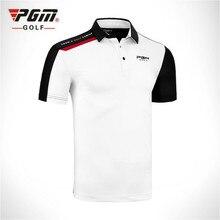 Натуральная одежда от PGM одежда мужская футболка с коротким рукавом Мужская спортивная одежда Удобная дышащая одежда