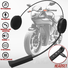 Speaker Helmet-Intercom Motorcycle Wireless Headset Earphone Microphone-Handsfree Stereo
