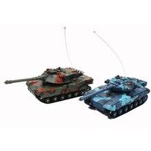 Дистанционное управление легкий подарок для детей освещение со звуком вращающийся портативный обучающий реакционный способность игрушечный танк бой