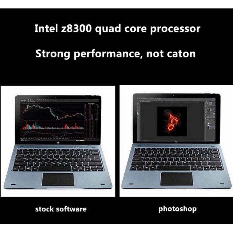 NC01 Windows 10 4GB RAM 128GB ROM ile Pin yerleştirme klavye 11.6 inç Tablet PC dört çekirdekli Bluetooth 4.0 1920*1080 IPS HDMI