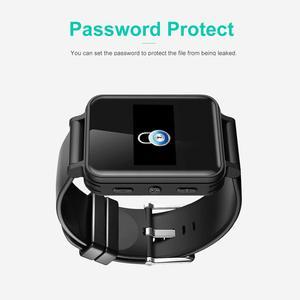 Image 3 - Draagbare Digitale Voice Recorder Stereo Audio Opname Smart Armband Horloge Stappenteller Hifi Loseless MP3 Speler V81