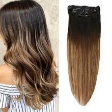 Натуральные волосы для наращивания toysww 6 шт 100 г 120