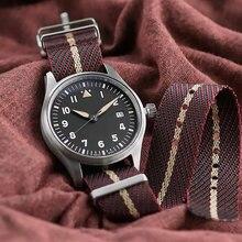 Najwyższej jakości pasek zegarka NATO Zulu 20mm 22mm wymiana nylonu bransoletka pasek zegarka dla Tudor pasek w barwach Nato