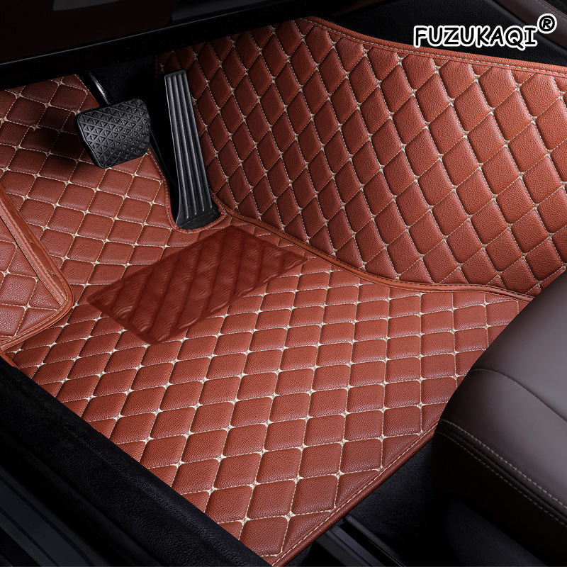 FUZHKAQI Auto car floor Foot mat For volvo cx40 xc90 s60 v40 s40 xc60 c30 s80 v90 v50 xc70 waterproof car accessories styling|Floor Mats| |  - title=