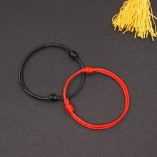 Ножные браслеты для женщин, восковая веревка, ювелирное изделие для ног, Летний пляж, простая веревка для ног, ручная работа, пара, Круглый ножной браслет, размер 19 см-25 см