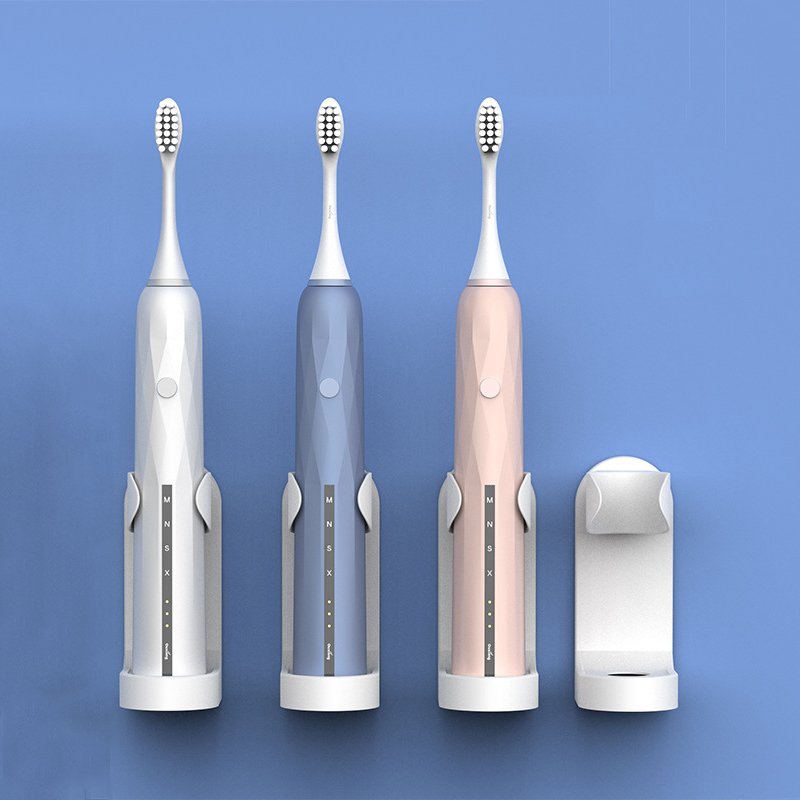 Electric Toothbrush Holder Simple Practical Wall Mounted Toothbrush Base Stander Storage Rack image