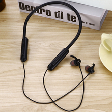 Bluetooth Earphones Wireless Headset Sport Neckband Support TF Card Earbuds Headset with Mic for iPhone Xiaomi bluetooth headphone wireless with mic support tf card fm radio bass headset for computer for iphone 5 6 7 8 xiaomi ios andrews
