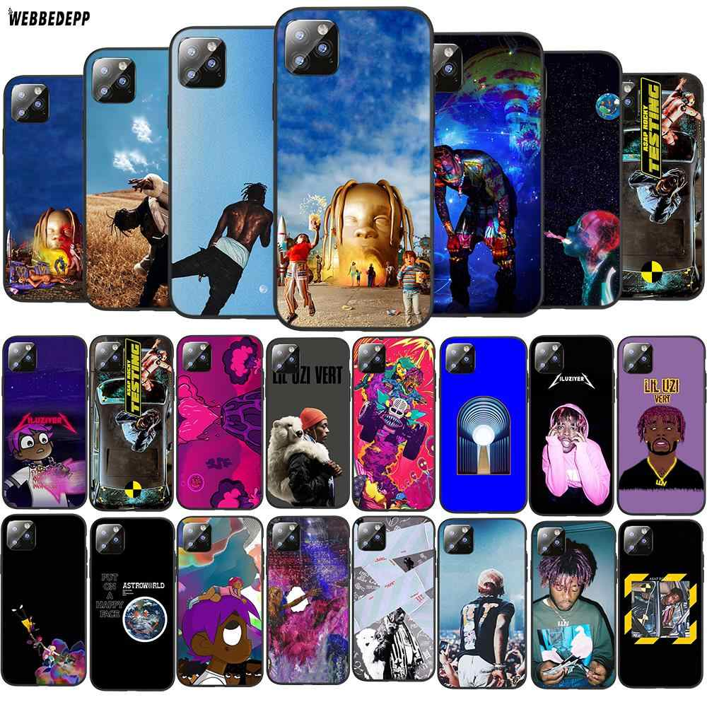 Q21 Lil Uzi Travis Scott i Kanye West TPU obudowa telefonu dla Apple iPhone 6 6S 7 8 Plus 5 5S SE X XS 11 Pro MAX XR miękki futerał