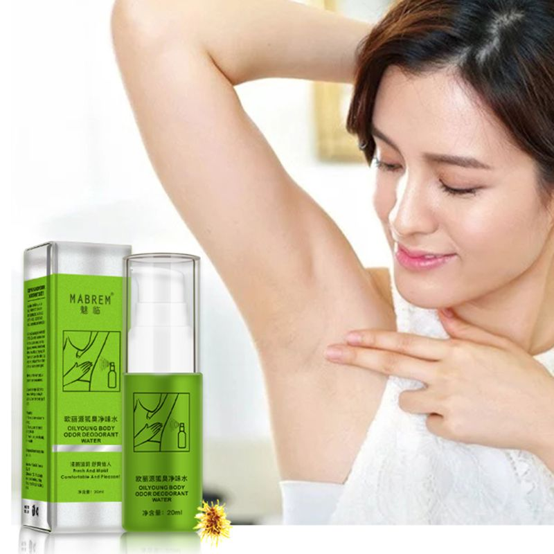 20ml Women Men Antiperspirant Deodorant Summer Underarms Armpit Foot Body Odor Remove Refreshing Water Spray Natural Deodorizer