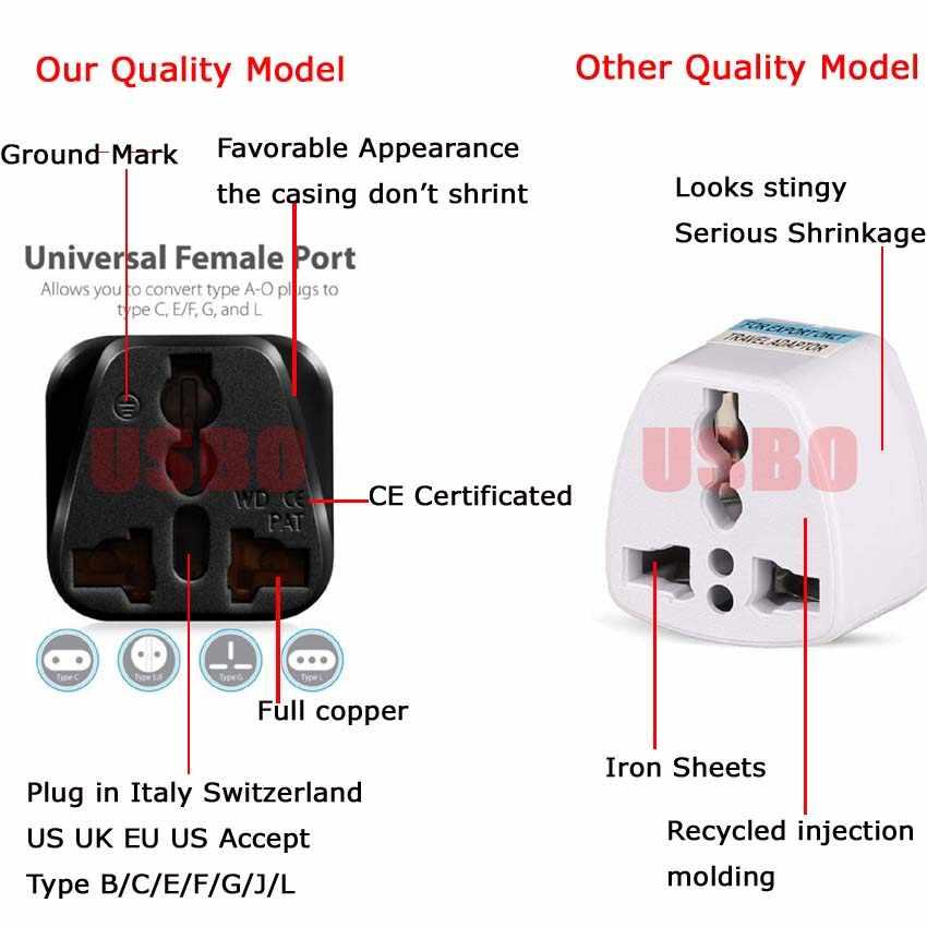 Универсальный адаптер стандарта CE Kr american для Австралии, ЕС, США, Великобритании, штепсельная вилка, Япония, Израиль, Бразилия, Индия, дорожный конвертер