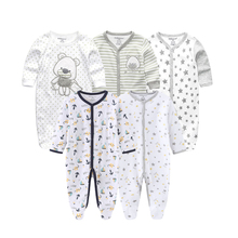 Bebek erkek tulum yumuşak pamuk bebek Unisex tulum tulum yenidoğan giysileri uzun kollu Roupas de bebe Infantis kız giyim seti