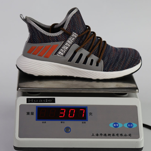 Ultra-light steel toe cap men safety shoes  3
