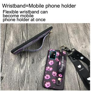 Image 3 - Phone Holder Soft Case Phone Case For Infinix X692/Note8 Wrist Strap Original Wristband Lanyard