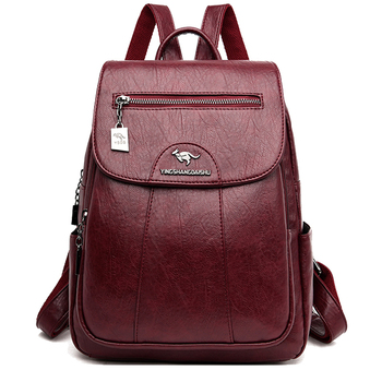 Women Backpack Leather Large Capacity School bags travel fashion designer brand famous bag Cheap wholesale lady bags with pocket zipper large capacity school bags for girls brand women backpack cheap shoulder bag wholesale kids backpacks fashion