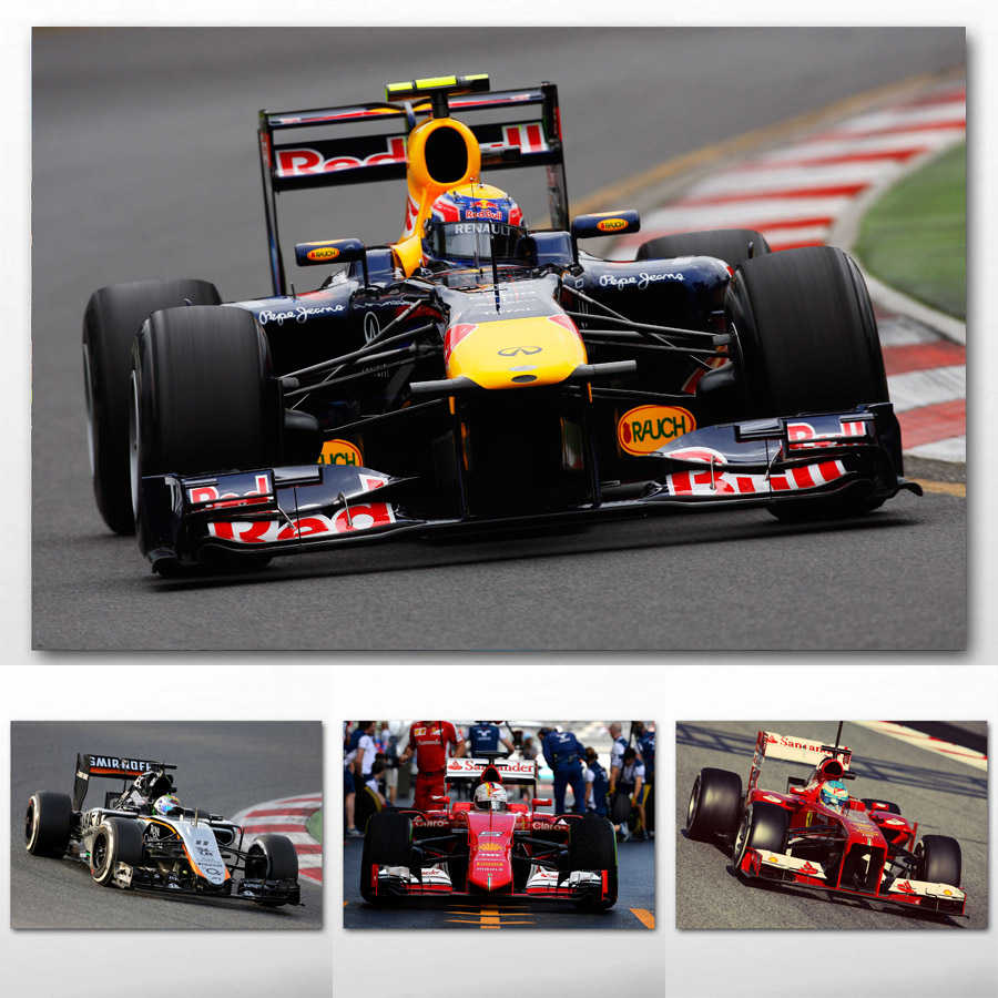 Canvas Paintings Formula One F1 Race Racing Car Sport Vehicle Sport Car Wall Art Posters And Prints For Living Room Decor Buy At The Price Of 8 48 In Aliexpress Com Imall Com